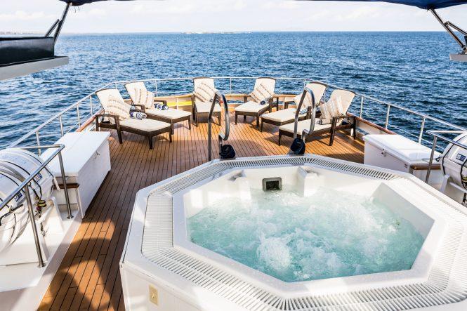 An Bord der Motoryacht STELLA MARIS auf den Galapagos verfügbar