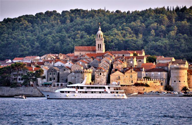 Kroatien im östlichen Mittelmeer
