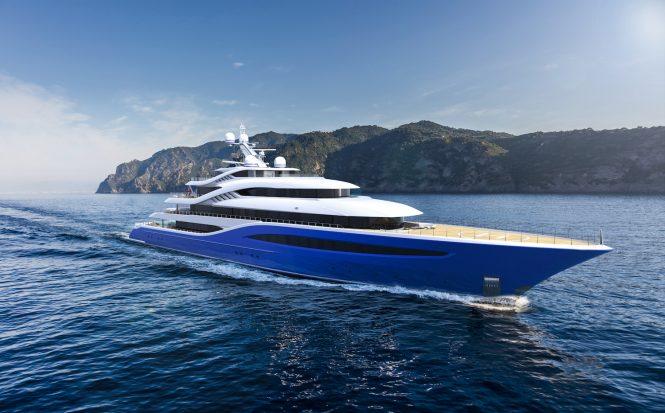 Turquoise Yachts 87m Megayacht Project Vento