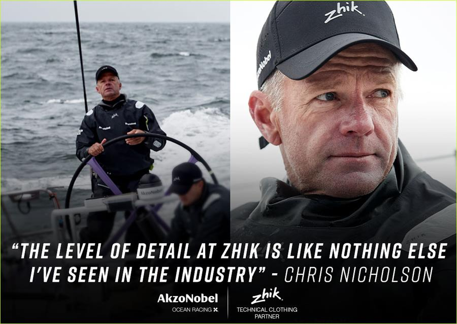 Chris Nicholson - AkzoNobel Ocean Racing